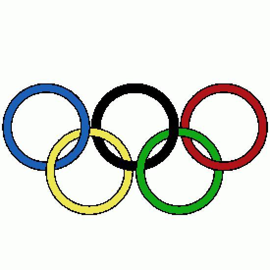 Coloriages anneaux olympique - Anneau des jeux olympique ...