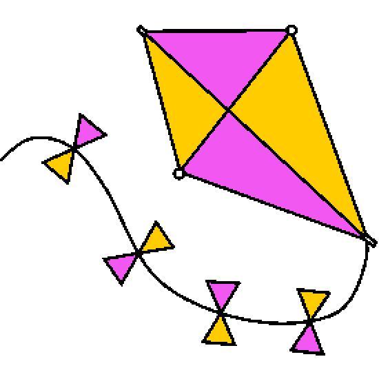 Un coloriage de ete r alis par gh - Coloriage cerf volant ...