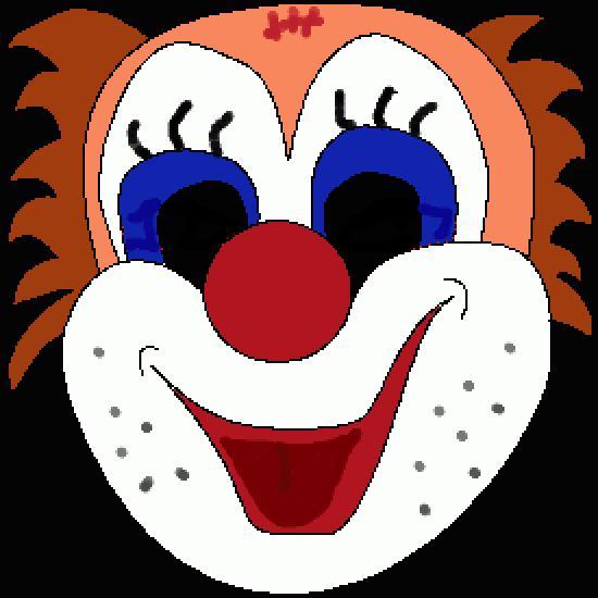 Un coloriage de dessin gratuit r alis par gh - Jeux de clown tueur gratuit ...