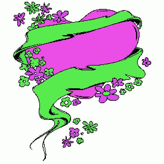 Dessiner une fleur avec des mots - Dessiner un ruban ...