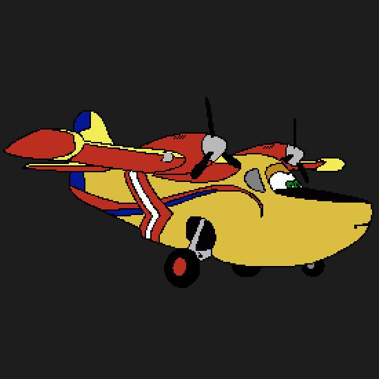 Coloriage Avion Bombardier.Un Coloriage De Planes Realise Par Gh