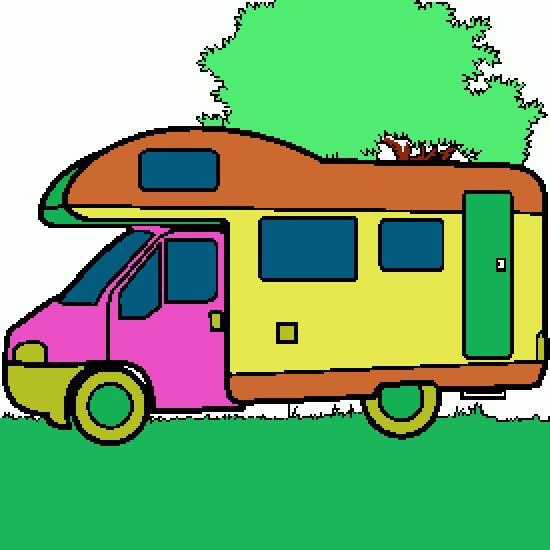 Dessin piquer camping car pictures to pin on pinterest - Camping car a colorier ...