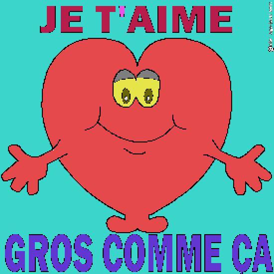 Un coloriage de saint valentin r alis par maeva - Gros coeur a imprimer ...