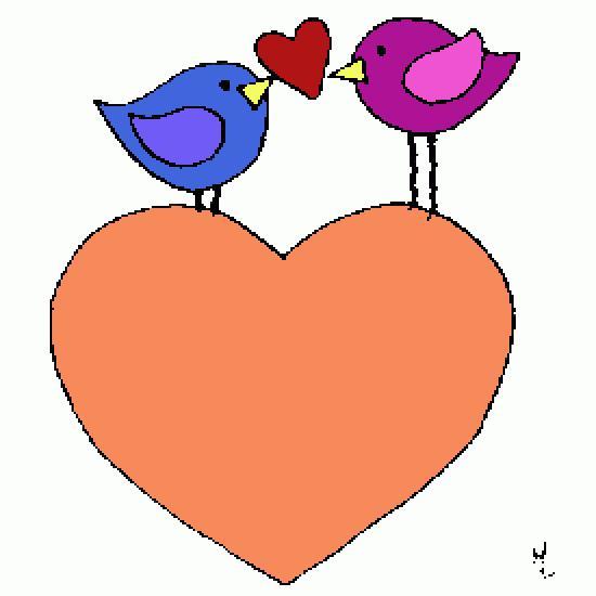 Un coloriage de lilicandy r alis par adeline - Dessin de coeur amoureux ...