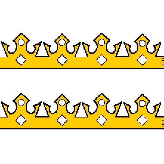Un coloriage de dessin gratuit r alis par frederic - Couronne galette des rois a decouper ...