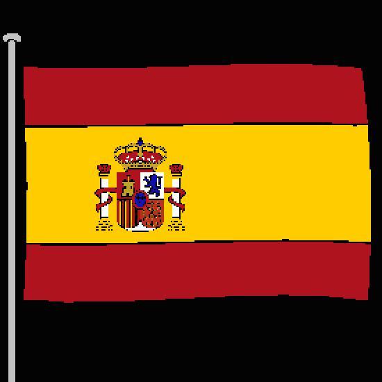 Pin espagne drapeau coloriage on pinterest - Coloriage drapeau espagnol ...