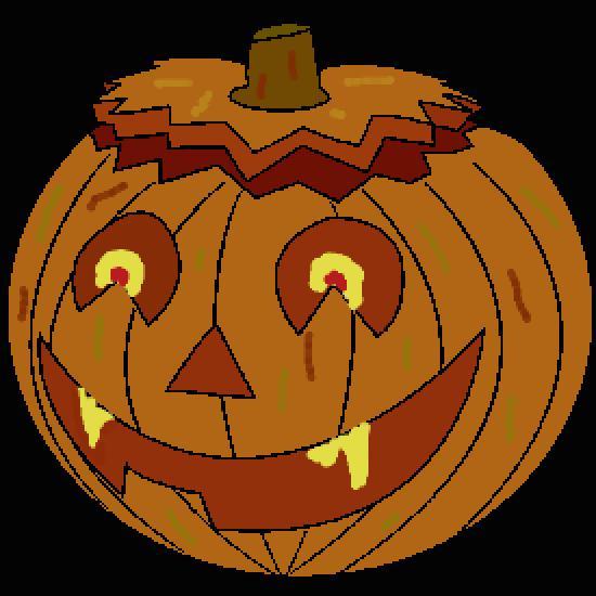 Un coloriage de halloween r alis par jean marc - Citrouille halloween dessin couleur ...
