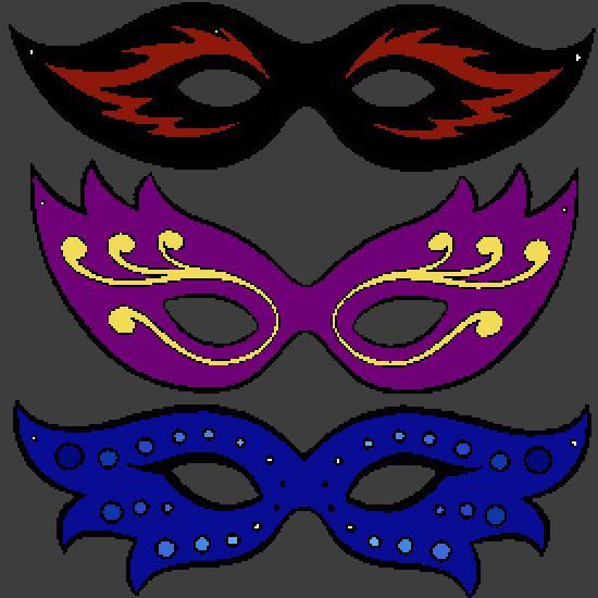 Coloriages carnaval - Masque de carnaval a imprimer ...