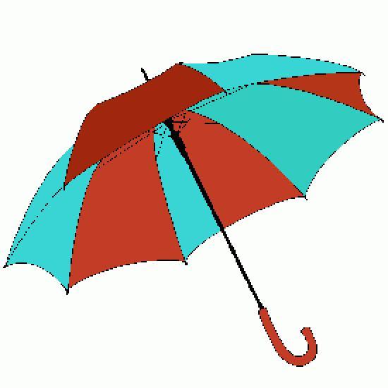 Un coloriage de automne r alis par gh - Parapluie dessin ...