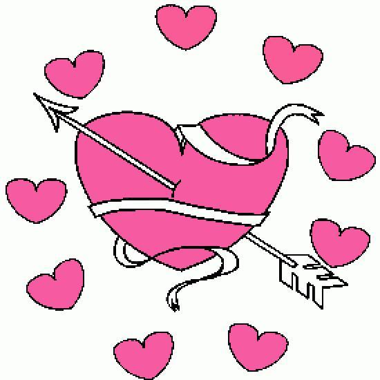 Un coloriage de saint valentin r alis par anthony - Image coeur gratuit ...