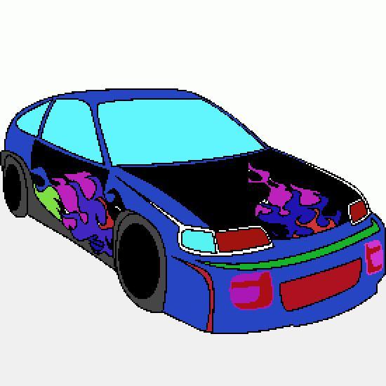 Un coloriage de vehicules r alis par mariedouaji - Dessin tuning ...