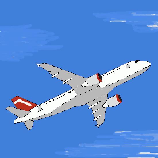 Un coloriage de vehicules r alis par gh - Dessin d un avion ...