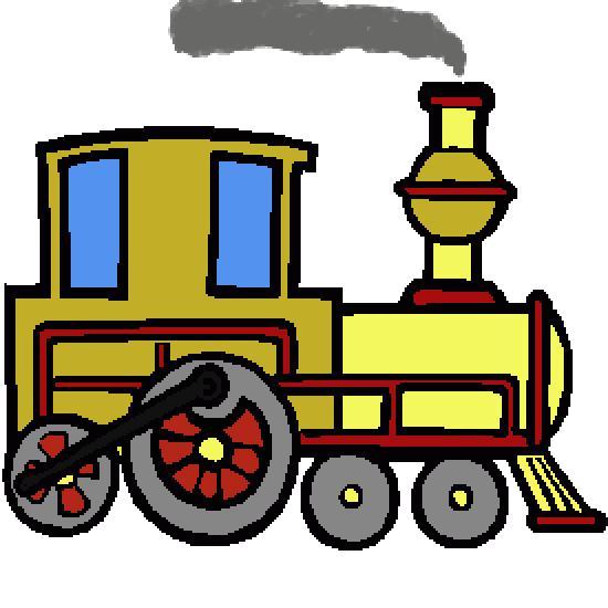 Un coloriage de vehicules r alis par gh - Locomotive dessin ...
