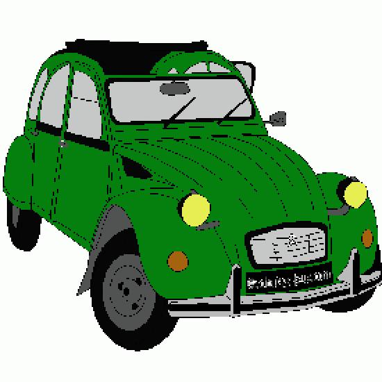 un coloriage de vehicules r u00e9alis u00e9 par erick
