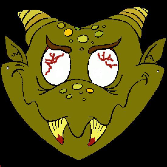 Un coloriage de halloween r alis par thibault - Masque halloween a colorier ...