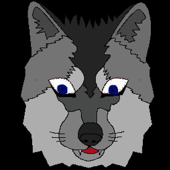 Un coloriage de animaux r alis par gh - Masque loup a imprimer ...