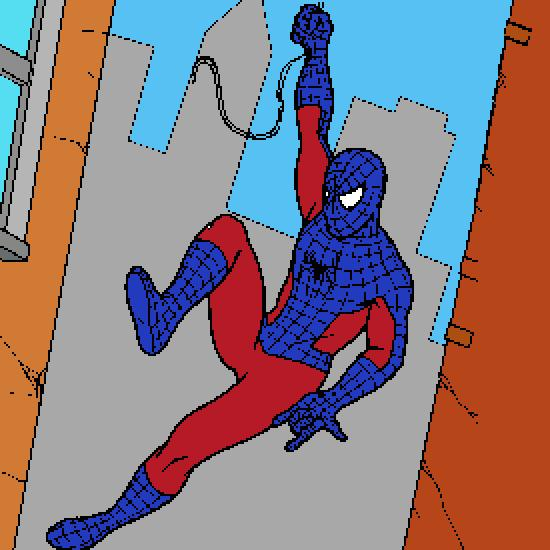 Un coloriage de spiderman r alis par gh - Dessin spider man ...