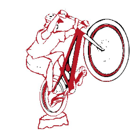 Un coloriage de sport r alis par - Dessin velo vtt ...