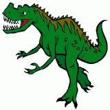 Dessin de dinosaure coloriages d 39 animaux en ligne - Tyrannosaure a colorier ...