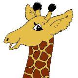 Coloriage de girafe coloriages d 39 animaux en ligne - Image d animaux gratuit ...