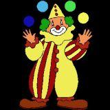 Coloriage de clown avec un nez rouge gratuit coloriages - Jeux de clown tueur gratuit ...