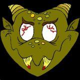 Masque de monstre colorier coloriages d 39 halloween en ligne - Masque halloween a colorier ...