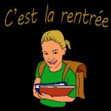 coloriage de Rentree des classes