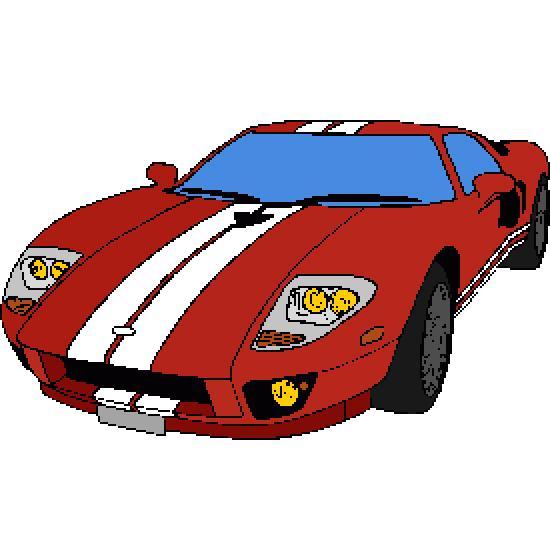 Un coloriage de vehicules réalisé par gh